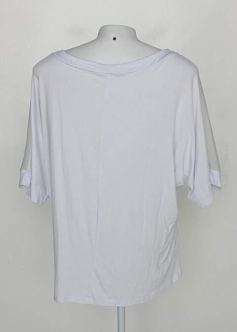 Blusa critton feminina branco com Transparência_foto de costas