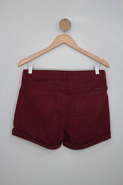 Shorts hering feminino roxo_foto de costas