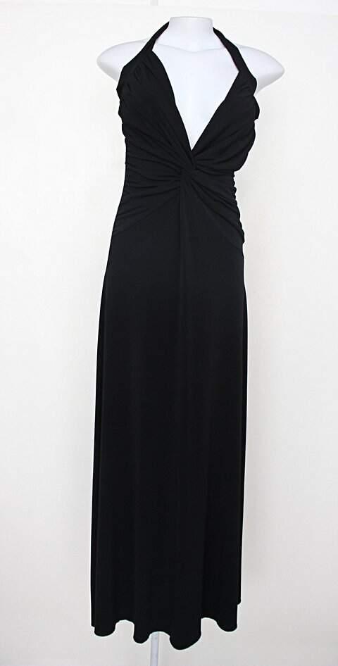 Vestido de Festa feminina preto com Drapeado_foto principal
