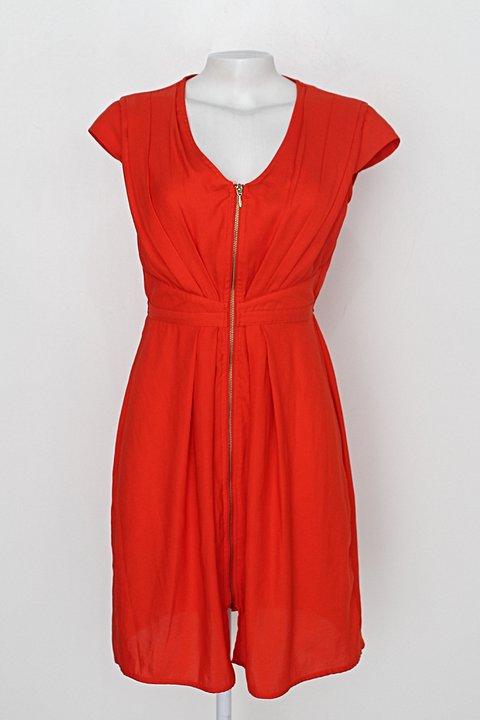 Vestido h&m - divided feminino laranja_foto principal