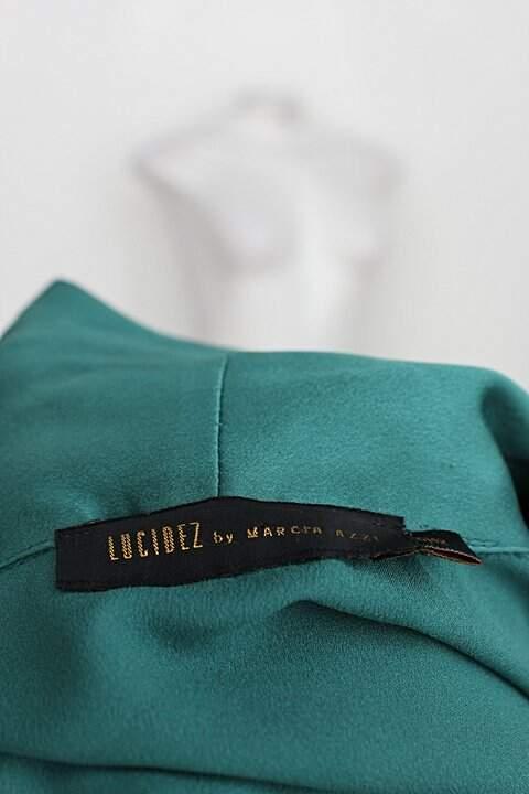 Cardigan lucidez feminino verde_foto de detalhe