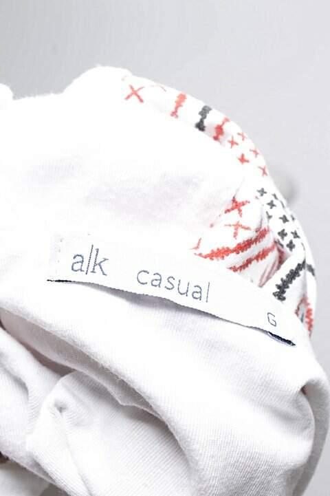 Blusinha Branca Estampada Riachuelo_foto de costas