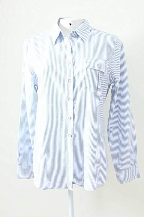 Camisa Listras Azul Brooks Brothers_foto principal