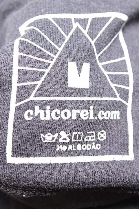 Camiseta Preta Chico Rei_foto de costas