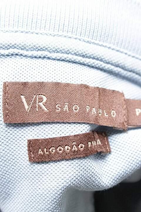 Camiseta Polo Cinza VR _foto de costas