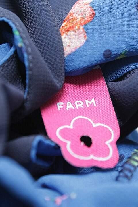Vestido Curto Estampado Floral Farm_foto de costas