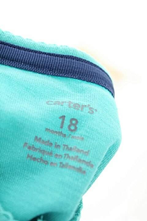 Casaco Verde Carter's_foto de costas