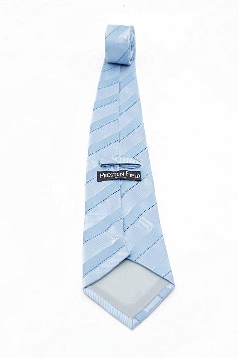 Gravata Tons de Azul_foto de frente