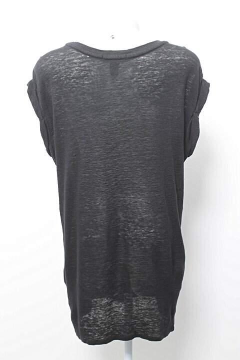 Blusa T-shirt Paris Preta_foto de frente