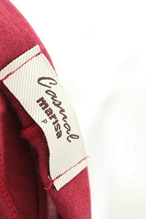 Camiseta Vermelha Marisa_foto de costas