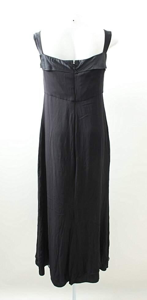 Vestido Preto Reto_foto de frente