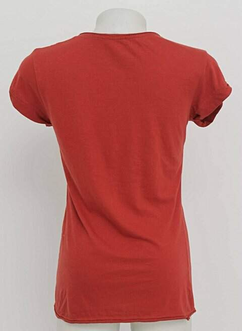 Camiseta Laranja Atmosphere_foto de frente