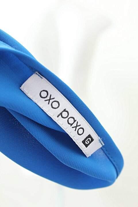 Blusa Alça Azul Oxo Poxo_foto de costas