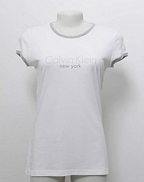 Camiseta Calvin Klein Off-white _foto principal
