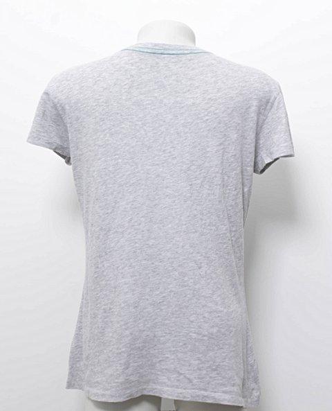 Camiseta Gap Cinza Mescla_foto de frente