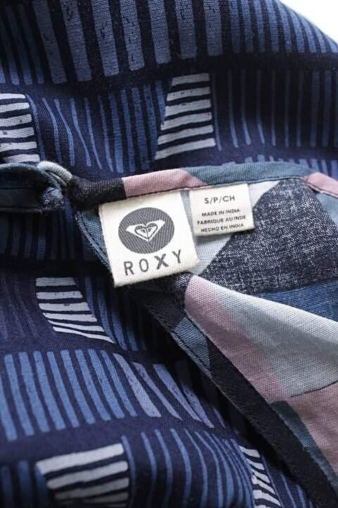 Vestido Roxy Mix De Estampas _foto de costas