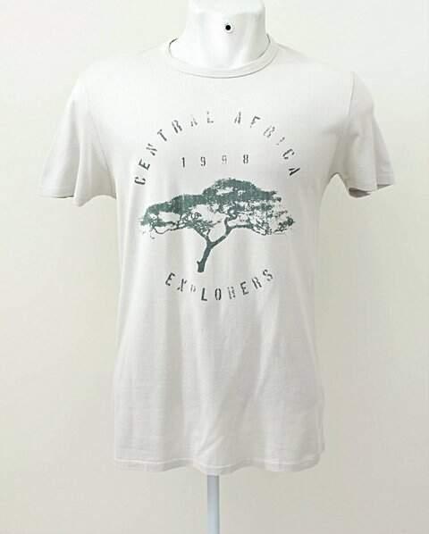 Camiseta Hugo Boss Creme Arvore _foto principal