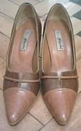 Sapato Marrom de couro_foto principal