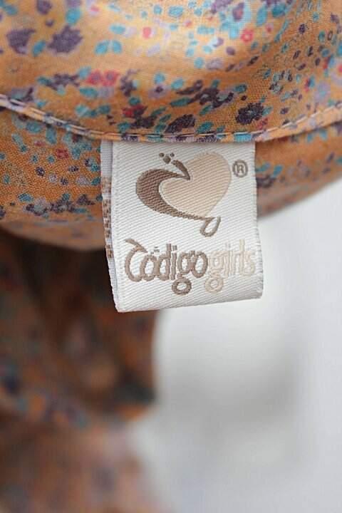 7e89536a1 Vestido Código Girls Laranja Estampad - compre por menos   Repassa
