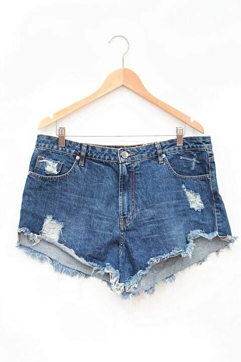 Shorts Jeans Destroyed Animale_foto principal