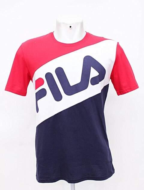 muy bonito 2019 profesional marca famosa Camiseta Masculina Fila Logo