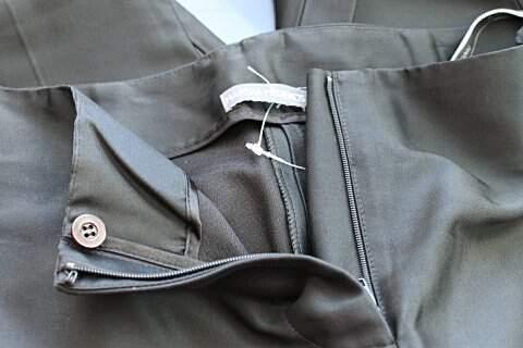 Calça Preta Martha Medeiros - TAM 46_foto de costas