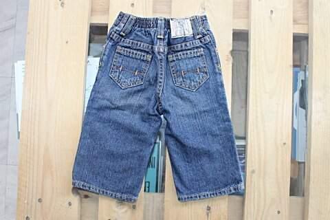 Calça Infantil Jeans Ralph Lauren_foto de frente