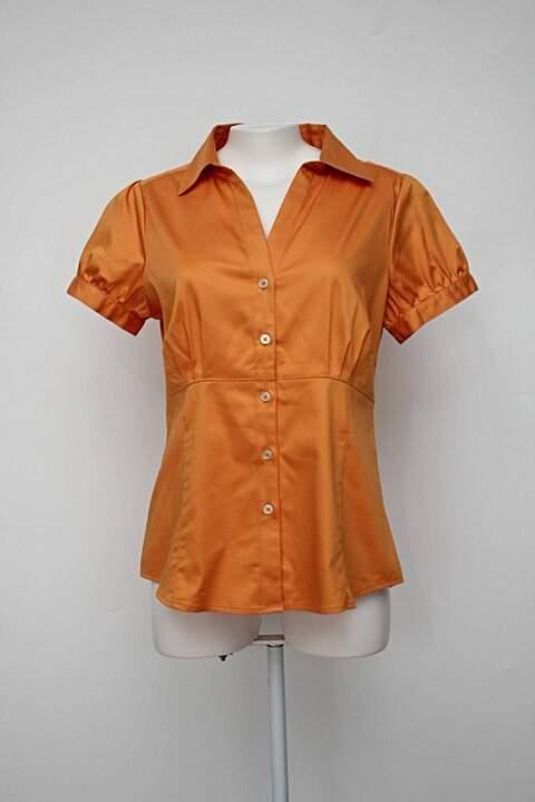 Camisa laranja banana republic_foto principal