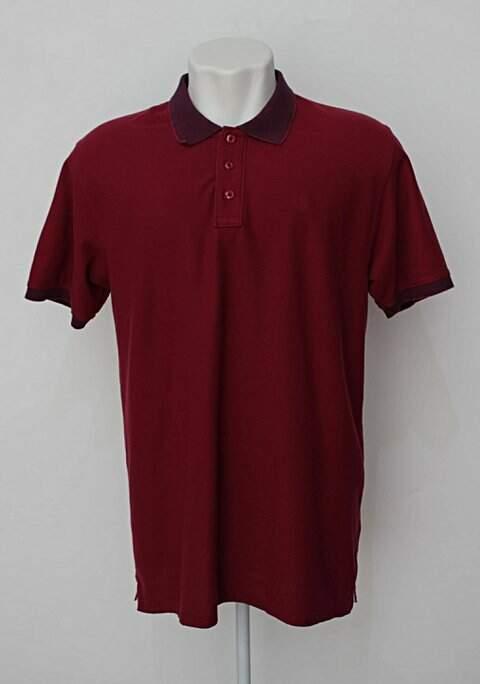 Camisa Polo vinho enrico rossi_foto principal