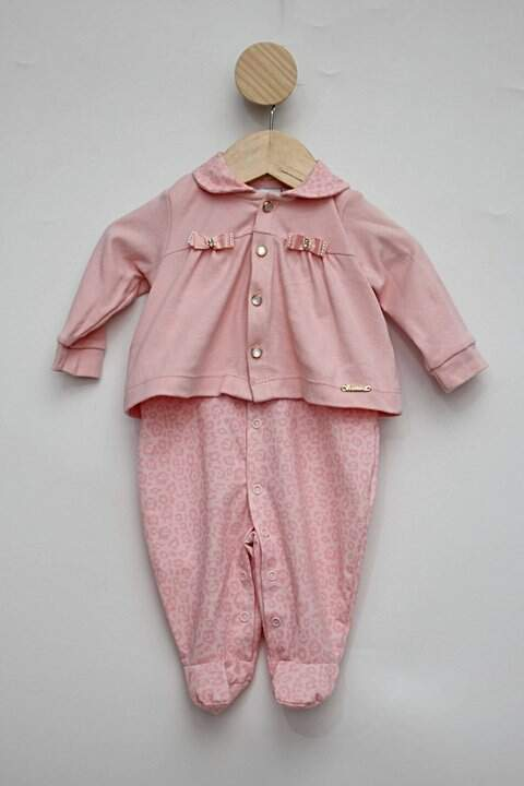 Macacão rosa bebê paraíso_foto principal