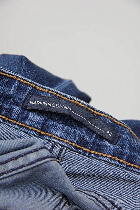 Calça Jeans flare azul renner_foto de detalhe