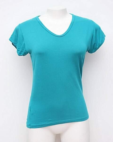 Camiseta verde água _foto principal