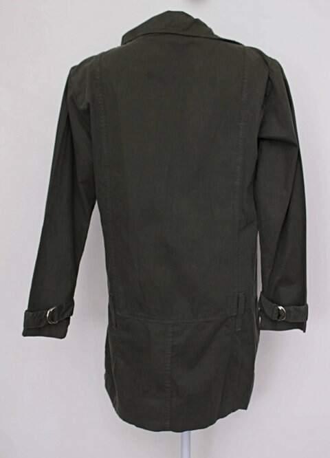 Casaco verde k-695_foto de costas