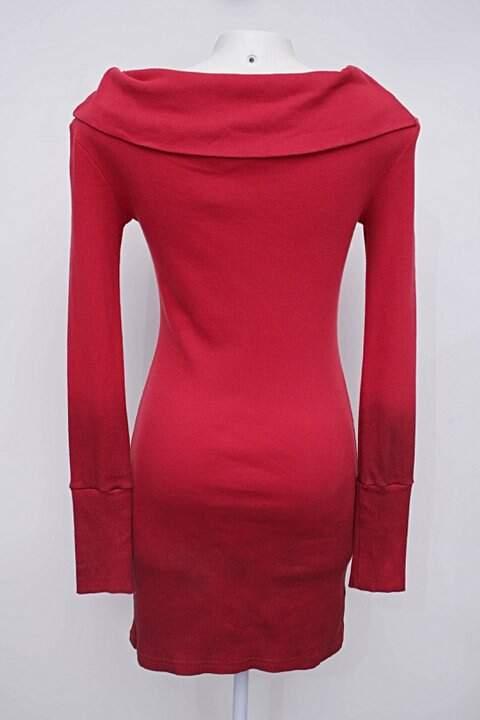 Vestido vermelho botswana_foto de costas
