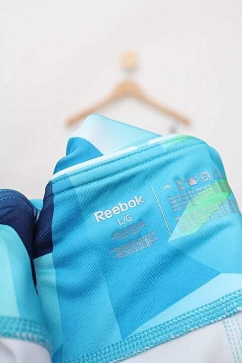 Calça Legging curta estampada reebok_foto de detalhe