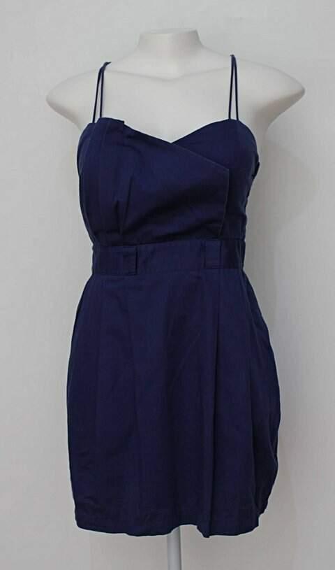 Vestido azul colcci com Bojo_foto principal