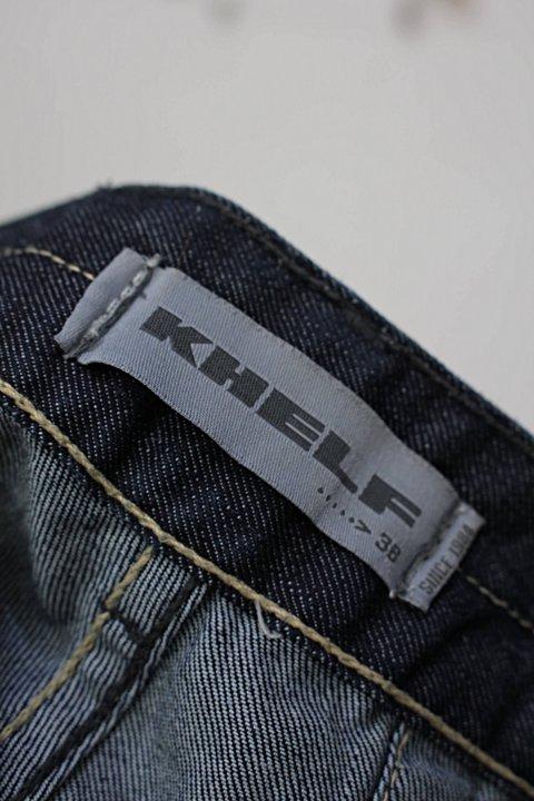Shorts jeans cintura alta khelf_foto de detalhe
