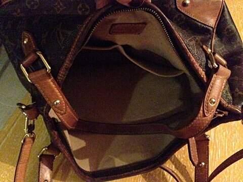 Bolsa Louis Vuitton_foto da etiqueta