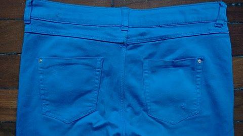 Calça Zara Azul_