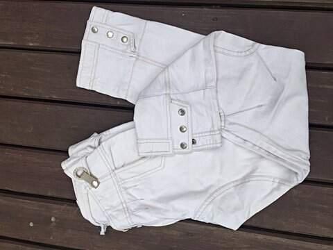 Calça Jeans branca Osklen _outra foto