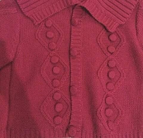 Blusa de Lã Cereja_