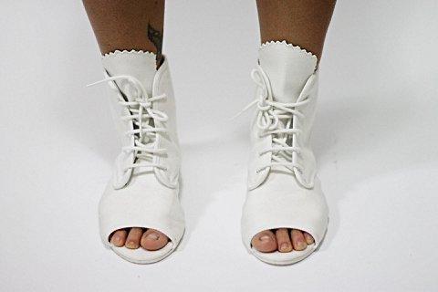 Toe Boots Lacoste Branca_foto principal