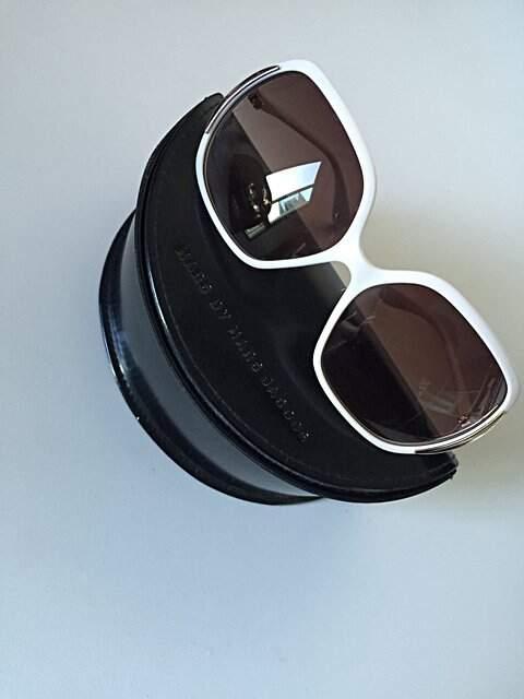 Óculos de Sol Marc Jacobs Branco_foto principal