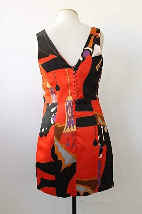 Vestido estruturado André Lima - TAM 38_foto de costas