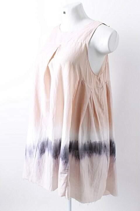 Vestido de Seda Tie Dye - TAM G_foto de frente