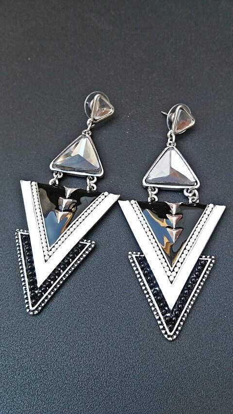 Maxi brinco Triângulos_